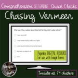 Chasing Vermeer Comprehension Quick Checks - Distance Learning