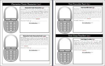 Chasing Vermeer Text Messaging Activity