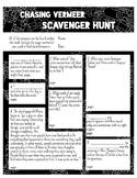 Chasing Vermeer Extension Activities - Scavenger Hunt & Descriptive Essay