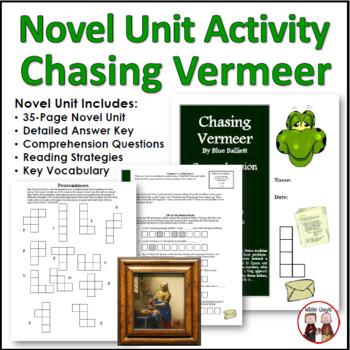 chasing vermeer novel unit by wise guys teachers pay teachers rh teacherspayteachers com Freak the Mighty Study Guide Island of the Blue Dolphins Study Guide