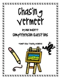 Chasing Vermeer, by B. Balliett, Comprehension Questions