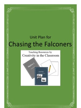 Chasing the Falconers Novel Unit Plus Grammar