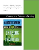 Chasing the Falconers Quizzes and Final Test