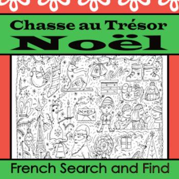 Chasse au Trésor de Noël: French search and find