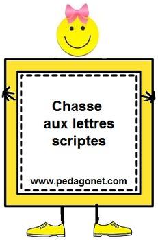 Chasse aux lettres scriptes