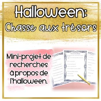 Chasse aux trésors d'Halloween