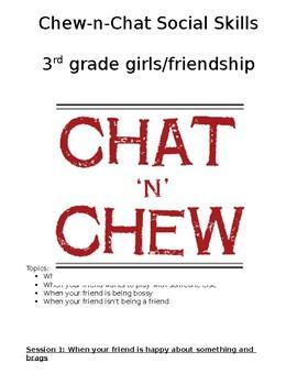 Chat-N-Chew: Social Skills lunch bunch