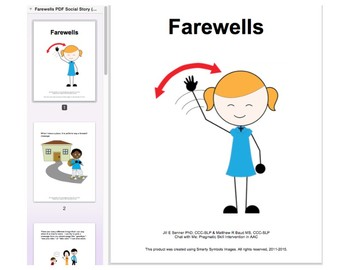 Chat with Me: Pragmatic Skill Intervention in AAC - Farewells