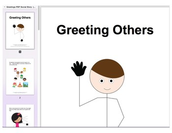 Chat with Me: Pragmatic Skill Intervention in AAC - Greetings