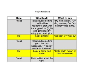 Chat with Me: Pragmatic Skill Intervention in AAC - Maintaining a Conversation