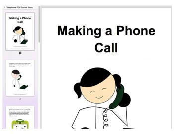 Chat with Me: Pragmatic Skill Intervention in AAC - Making a Phone Call