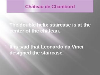 Château de Chambord French Castle PowerPoint