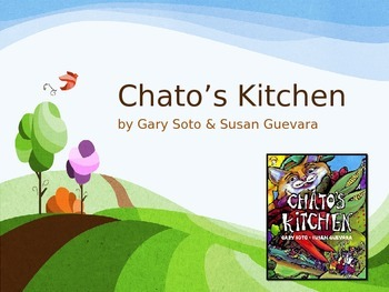 Chato's Kitchen by Soto and Guevara, Text Talk, Collaborative Conversations