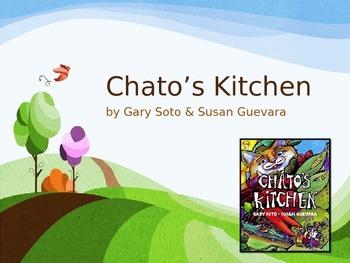 Chato's Kitchen   Collaborative Conversations  Tier 2 Vocabulary   Text Talk
