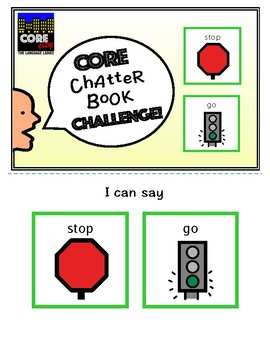 Chatter Book Challenge: STOP and GO