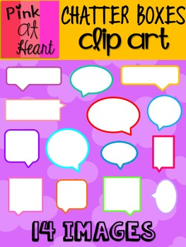 Chatter Boxes Clip Art