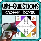 Chatter Boxes for Conversation Skills (Asking/Answering Wh-Questions)