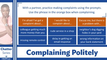 Chatter: Level 4 - Making a Complaint