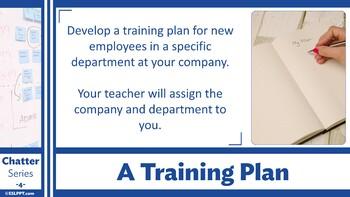 Chatter: Level 4 - Training