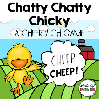 Chatty Chatty Chicky! - CH Digraph Board Game