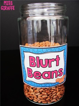 Chatty Class Classroom Management Tools (Blurt Alert, Blurt Beans, and more!)