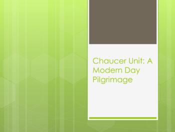 Chaucer Bellringer Creative Activity
