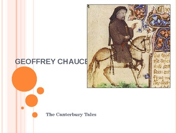 Chaucer Informational Power Point