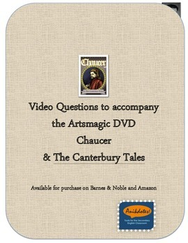 Chaucer and Canterbury Tales DVD questions NO PREP