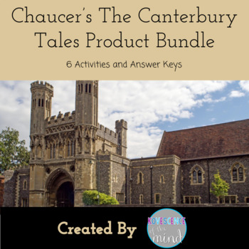 Chaucer's The Canterbury Tales Product Bundle: Read and Assess Chaucer's The Canterbury Tales with this product bundle.  Five tales' questions and a writing assignment.