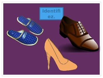 Chaussures et Accessoires (Shoes and Accessories in French) PowerPoint