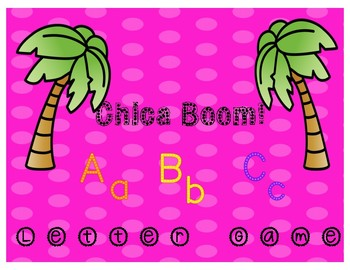 Chica-Boom ABC Letter Game
