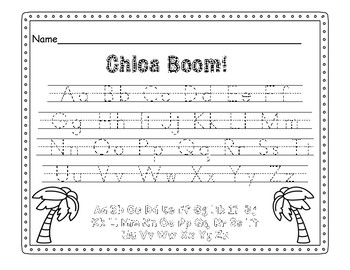 ABC Chicka-Boom Letter Game