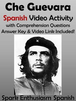 Che Guevara Spanish Video Activity