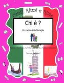 Italian Family Words (Che è ?) with the Italian  Rap-like Chant & MP3