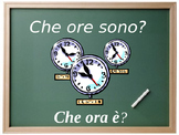 Che ore sono? Lesson on telling time in Italian