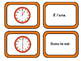 Che ore sono?  Telling Time Flashcards and Memory Game Ita