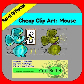 Cheap Clip Art: Mouse