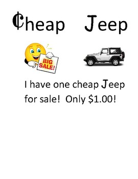 Cheap Jeep ch vs. j sound