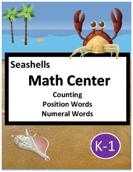 Math Center - Seashells (K-1)