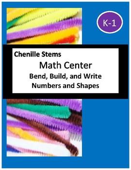 Math Center - Build and Write (K-1)