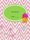 Cheap Teacher Binder
