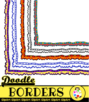 Cheap and Cheerful Doodle Borders