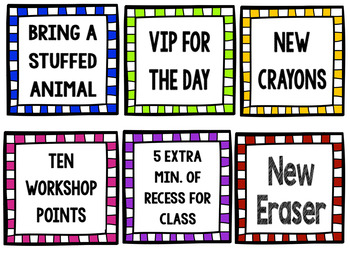 Cheap and Easy Classroom Coupons