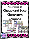 Inexpensive Classroom Coupons