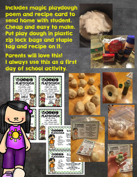 Cheap and Easy Student Gift Magic Dough