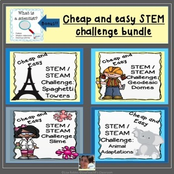Cheap and easy STEM challenge bundle