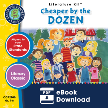 Cheaper by the Dozen Gr. 7-8