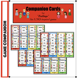 """Cheat Card Companions for """"Feelings"""" inspired UNO card dec"""