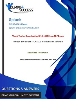 Cheat Sheet Splunk SPLK-1003 Exam Dumps – Success Secret by