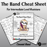 Cheat Sheets for Band - The Ultimate Reference! - Terms, n